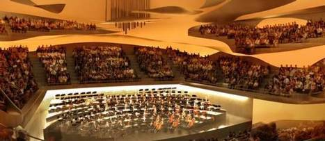 La Philharmonie de Paris : l'architecture au service de la musique | The Architecture of the City | Scoop.it