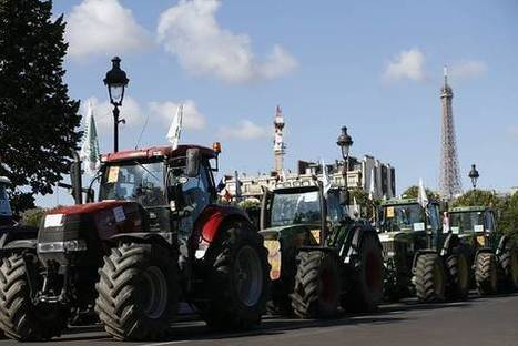 French Government Pledges More Aid for Farmers, After Tractor Protest in Paris - Wall Street Journal | French AP IB  AS and  A2 resources | Scoop.it