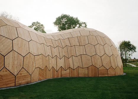 Landesgartenschau Exhibition Hall is a plywood pavilion made by robots | e-merging Knowledge | Scoop.it