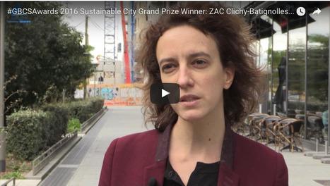 Lauréat Grand Prix Ville DURABLE ZAC Clichy-Batignolles (France) - Construction21   URBANmedias   Scoop.it