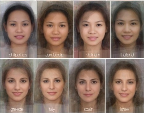 "Curious study calculates the ""average"" female face for each country 