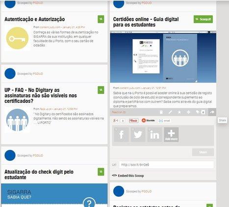 SABIA QUE? Publicação Scoop.it | SIGARRA | Scoop.it