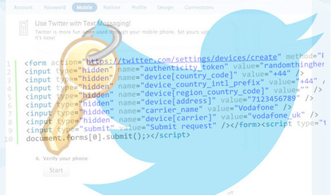 Twitter Fixes Bug that Enabled Takeover of Any Account | Social Networks Security | Scoop.it