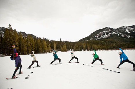 Frozen Yoga? It's Snowga | Education, Curiosity, and Happiness | Scoop.it