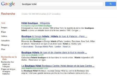 La recherche d'hôtels sur Google selon WHIP | Hôtellerie, luxe & médias sociaux | Scoop.it