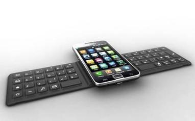 Un clavier NFC pour smartphones et tablettes | The click : La ... | sanscontact | Scoop.it