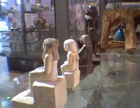 Mystery solved! Manchester Museum's spinning ancient Egyptian statue isn't cursed | Egyptology and Archaeology | Scoop.it