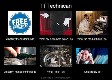 IT Technician | What I really do | Scoop.it