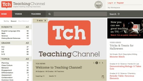 Teaching Channel: Videos, Lesson Plans and Other Resources for Teachers | Technology Resources for K-12 Education | Scoop.it