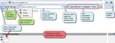 Surfmark - screenshot webpage capture & annotate | iEduc | Scoop.it