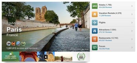 TripAdvisor va-t-til sauver la réputation touristique de la France, ou ... - Slate.fr | avis clients et tourisme | Scoop.it