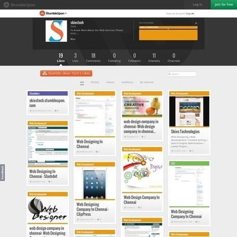 skiestech (Lovely Shami) | Web Design Company In Chennai | Scoop.it