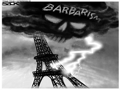 Terror In Paris Cartoons | The efl teacher's tool box | Scoop.it