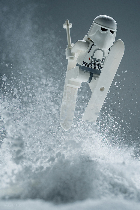Stunning Star Wars LEGO Hoth Photos - News - GeekTyrant | Cool Links | Scoop.it
