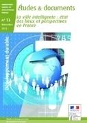 La ville intelligente : état des lieux et perspectives en France - Ministère du Développement durable | ville et technologie | Scoop.it