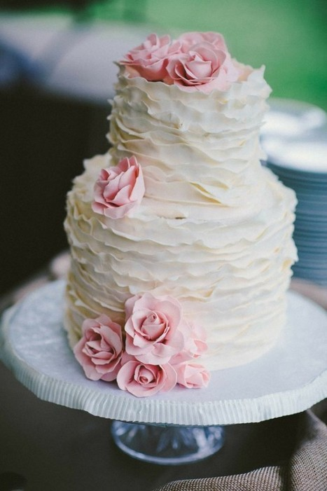 11 Wedding Cake Pictures That Made Us Say WOW! | Team Wedding Blog | Wedding Inspiration | Scoop.it