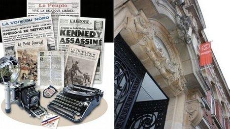 L'ESJ Lille fête ses 90 ans et ouvre le premier musée virtuel de la presse du monde francophone | Image et presse | Scoop.it