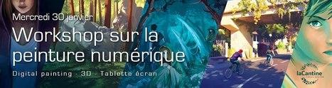 Workshop Peinture Numérique le 30 janvier 2013 dès 19H00 à La Cantine Toulouse | La Cantine Toulouse | Scoop.it