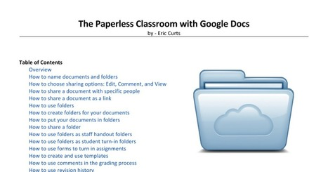 The Paperless Classroom with Google Docs | Moodle and Web 2.0 | Scoop.it