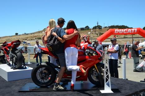 Laguna Seca MotoGP Ducati Island | Friday, Vicki's View | Ductalk Ducati News | Scoop.it