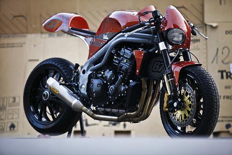 """TRIUMPH SPEED TRIPLE """"WESTLAKE Sp""""by OLIVI MOTORI   Triumph Classic   Scoop.it"""