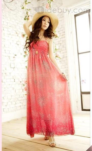 Fashionable Temperament Popular High Cost Effect Bohemian Style Maxi Dress | beautyful | Scoop.it