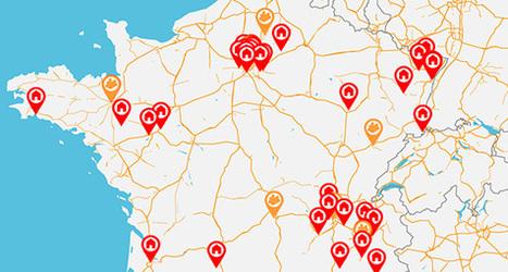Cartographie de l'Habitat Groupé   Les cartes des Alternatives - Géographie de la transition   Scoop.it