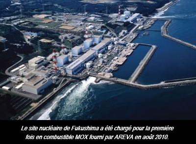 Alerte Plutonium Fukushima 3 : MOX et INTOX | CentPapiers | Japon : séisme, tsunami & conséquences | Scoop.it