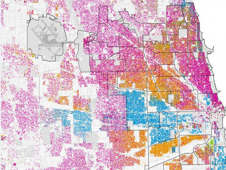 12 Maps That Show The Extreme Racial Segregation In America's ... | Cartography | Scoop.it