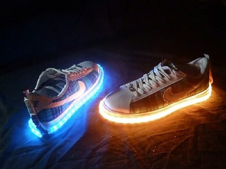 Vision X LED Shoe Kit Will Make You Walk On Light | Creative lighting | Scoop.it