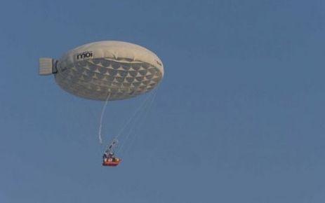 Ils traversent la Manche en ballon électrique | Aérostation, ballons et dirigeables | Scoop.it