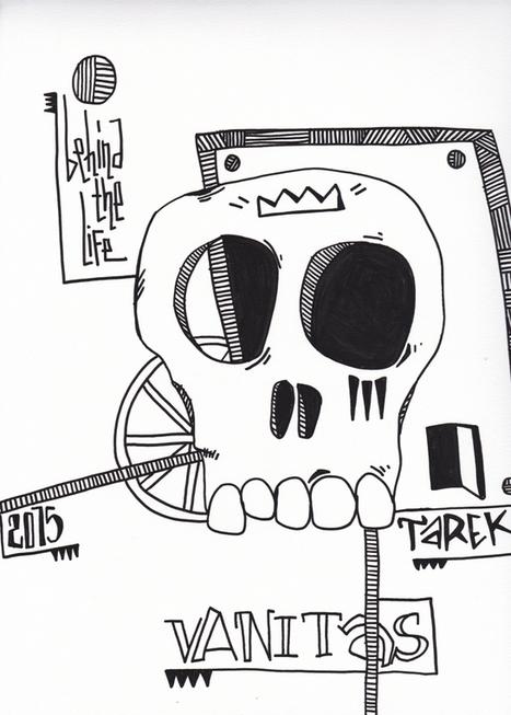 Arts Graphiques | Tarek | Tarek 25 | Tirage d'art en série limitée sur L'oeil ouvert | Les créations de Tarek | Scoop.it