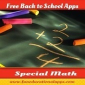 Free Back To School Apps - Special Math Apps - Aug. 2nd | Scooping Literacy: Diversified Learning | Scoop.it
