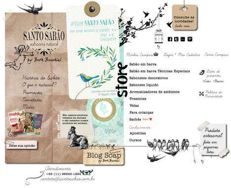 Santo Sabão por Beth Bacchini :: Saboaria Natural | Cosméticos Naturais | Scoop.it