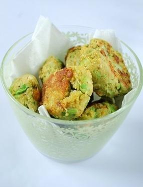 Falafels de pois chiches et de petits pois   Clea Cuisine   Salé - plats   Scoop.it