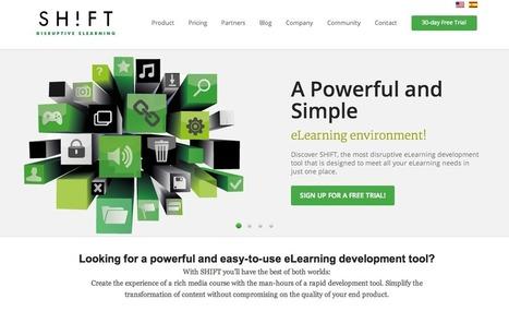 Shift Learning. Desarrolla cursos disruptivos en línea | Las TIC y la Educación | Scoop.it