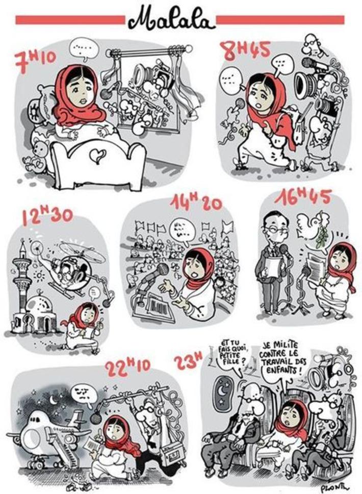 Malala, prix Nobel de la Paix   Baie d'humour   Scoop.it