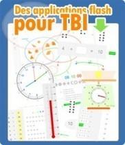 Ressources pour TBI/TBN : Applications flash   L'e-école   Scoop.it