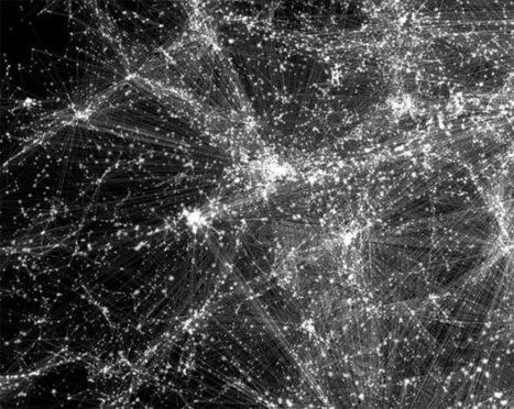 Ils ont modélisé la toile cosmique, qui relie toutes les galaxies entre elles | Beyond the cave wall | Scoop.it