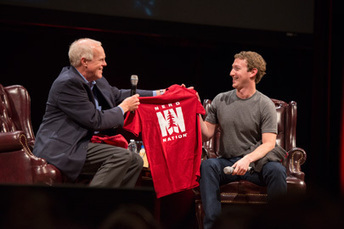 Zuckerberg and Hennessy discuss how social media can solve global challenges | global challenges | Scoop.it