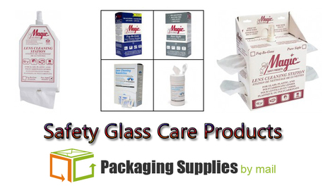 Safety 1st—the advantage of Safety Glass Care Products! | Packaging Supplies | Scoop.it