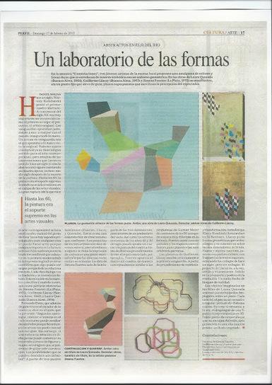 guillermo llacay: nota de Daniel Molina en Diario Perfil, suplemento ...   ELSI DEL RIO Arte Contemporáneo   Scoop.it