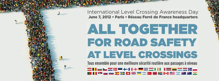 Journée mondiale de sécurité routière aux passages à niveau