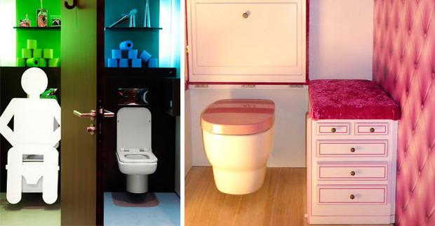 Une déco de WC qui en jette ! | La Revue de Technitoit | Scoop.it