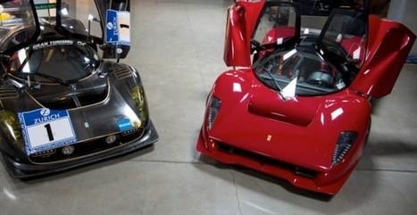 Ferrari P4/5 by Pininfarina and P4/5 Competizione Headed to The Quail   Ferrari Journal   Scoop.it