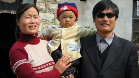 Activist Chen flying to New York for new life as student Elated Taint ...   Human Rights Activists   Scoop.it