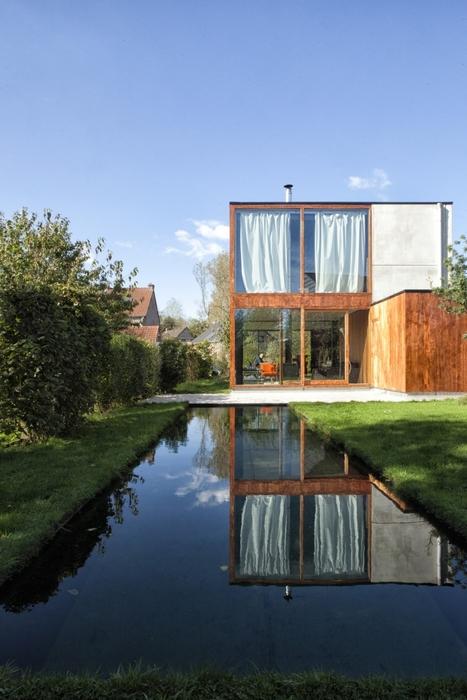 [inspiration] Vivre dans la nature. Maison bois design de OYO (Belgique) | Dislearning Desapprentissage Desaprendizaje | Scoop.it
