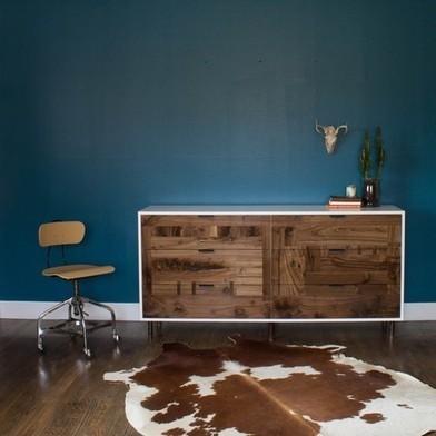 kith&kin  Walnut patchwork dresser | Coaching | Scoop.it