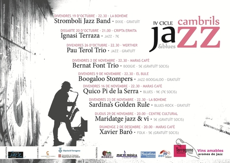 IV Cicle de Jazz & Blues de Cambrils | Actualitat Jazz | Scoop.it