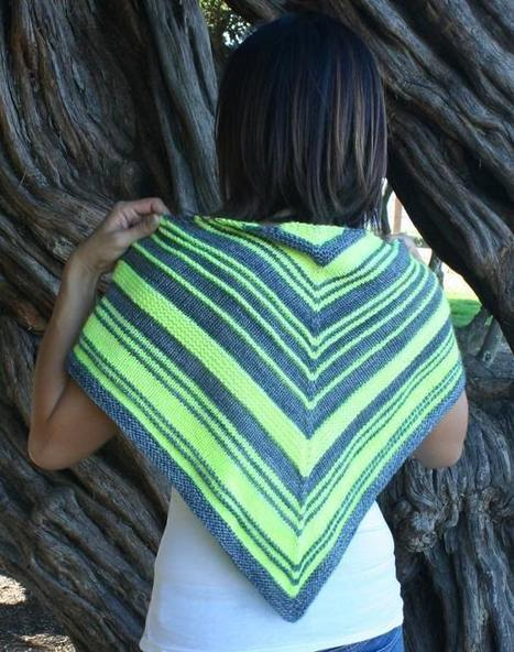 Top 15 Free Shawl Knitting Patterns | Spinning, Weaving and Knitting | Scoop.it